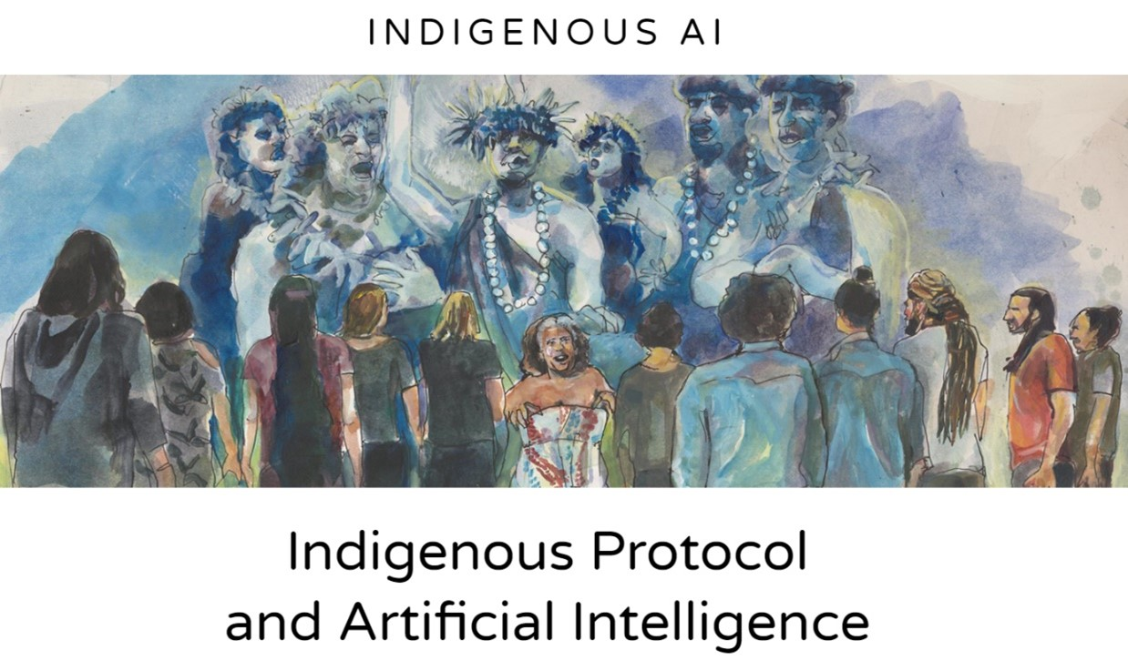 Cover of Indigenous AI article
