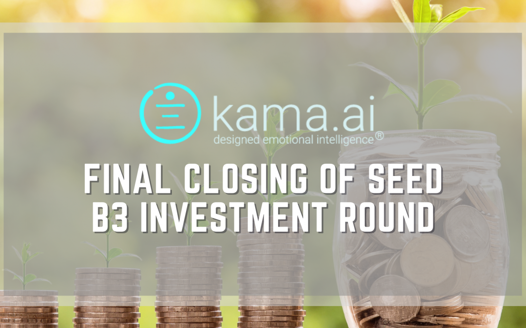 Kama.ai announces the final closing of Seed B3 Investment Round